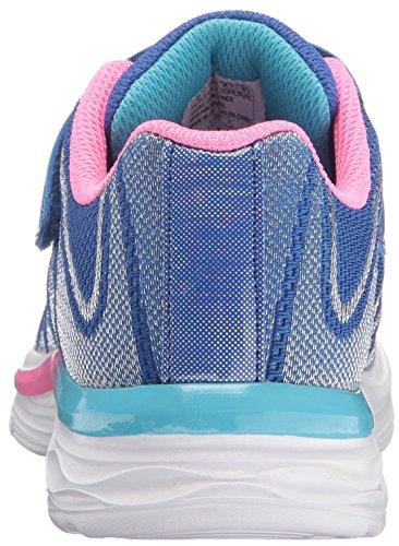 Skechers Kids Girls Dream NDash-Whimsy Sneaker, Blue/Pink, 4 M US Big Kid