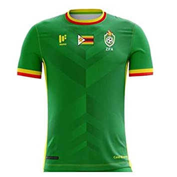 Mafro Sports 2017-2018 Zimbabwe Home Football Soccer T-Shirt  Amazon.co.uk   Sports   Outdoors a1baa52ef