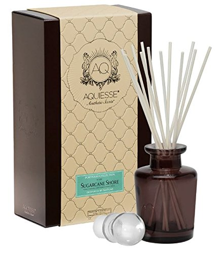 Aquiesse Reed Diffuser Sugarcane Shore   B00WDFMQ6G