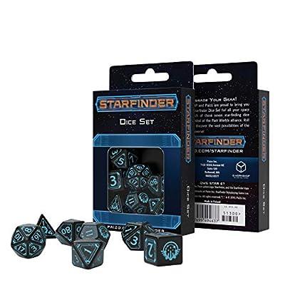 Q-Workshop Starfinder Dice Set: Toys & Games