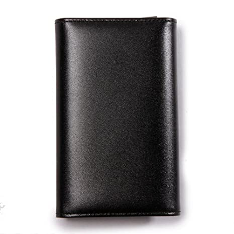 Montblanc Meisterstuck Key Case for 6 Keys - Black Leather - 7161
