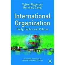 evolution and international organization rittberger v