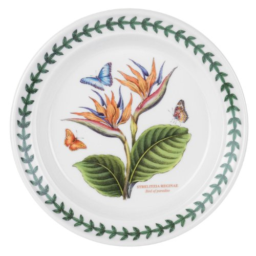 Portmeirion Exotic Botanic Garden Bread and Butter Plate with Bird of Paradise Motif ()