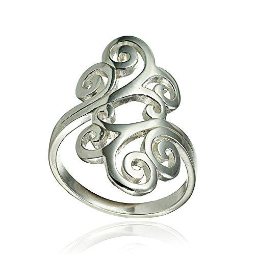 gold filigree ring - 9