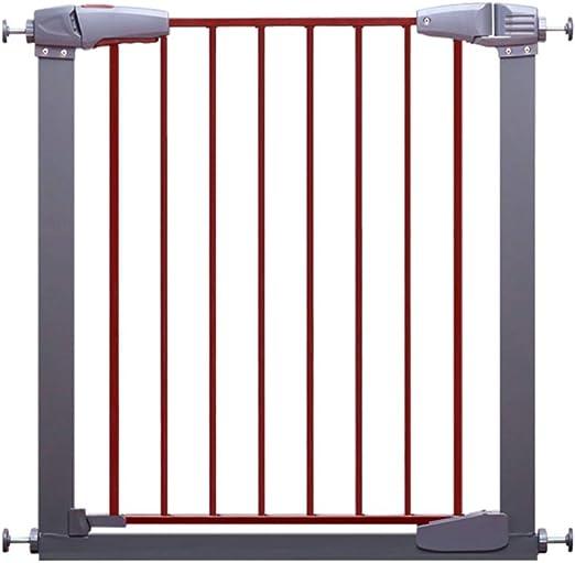 LSRRYD Barreras para Puertas Y Escaleras Resina ABS Puerta De Cerca Retráctil Doble Bloqueo Instalación Fácil para Perros Y Mascotas (Size : 93cm): Amazon.es: Productos para mascotas