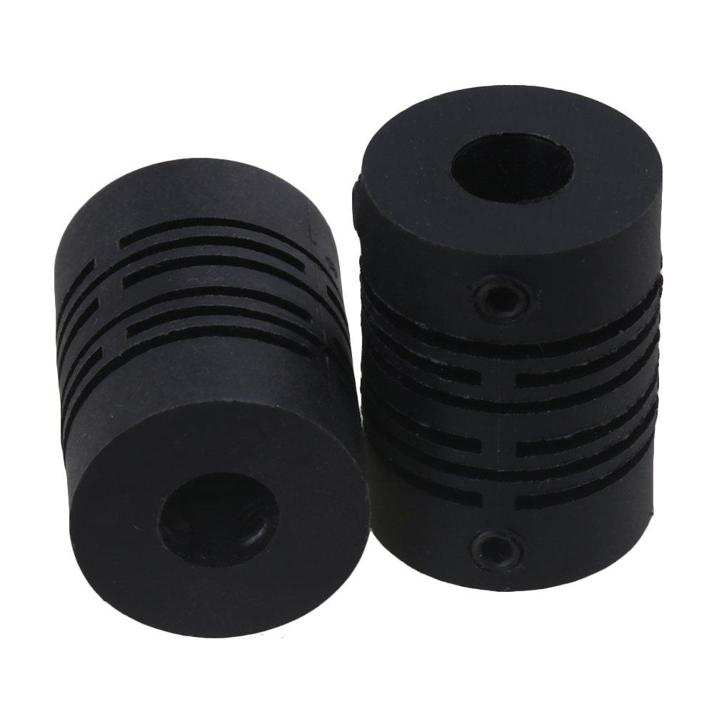 Yibuy 5/x Plastique Encodeur Raccord pour Moteur Driven Shaft Coupler D15l21/6/x 6/mm