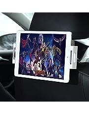 BENKS Auto con Staffa per Tablet Smartphone, Supporto per Poggiatesta per Tablets, Poggiatesta per Auto con Staffa per Tablets Un iPads: 11.94-20.07 cm Compresse O Altro Dispositivo (Blanc)