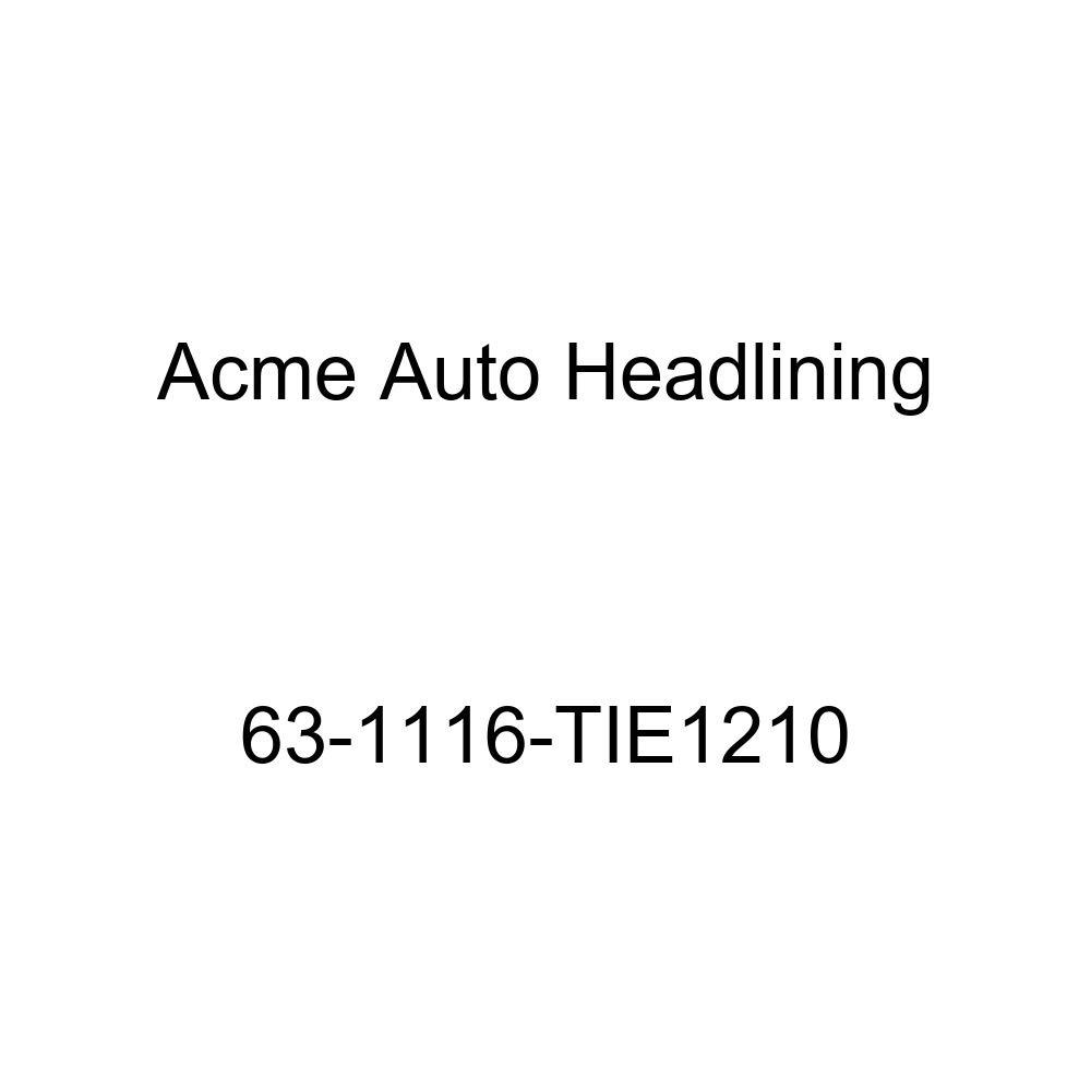 Acme Auto Headlining 63-1116-TIE1210 Maroon Replacement Headliner Buick Electra 4 Dr 225 Sedan w//Quarter Glass /& No Posts 6 Bow