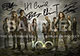 The 100 TV Show Print cast Eliza Taylor, Bob Morley, Marie Avgeropoulos, Devon Bostick, Henry Ian Cusick (11.7' x 8.3')