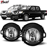 Nissan 1000 Series Accessory Lighting - Winjet WJ30-0449-09 OEM Series for Nissan [2005-2014 Xterra] [2010-2017 Frontier] Clear Lens Driving Fog Lights + Switch + Wiring Kit