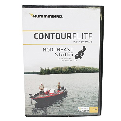 Humminbird 600046-2 Contour Elite DVD Fishing PC Software - NORTHEAST STATES (FEB '17) Fish Finders And Other Electronics Humminbird