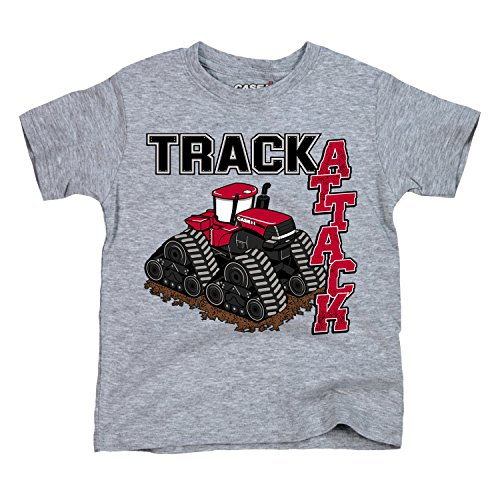 - Track Attack Steiger Toddler - CASE IH Toddler Short Sleeve Tee Athletic Heather