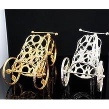 MA Exquisite Golden wine rack wire car Golden high-end wine racks