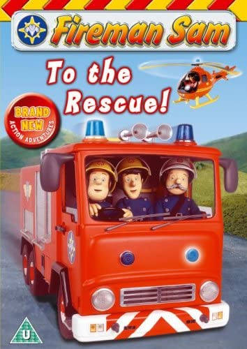 4 Years Red Fireman Sam-Superb Fireman Sam Set Red and White Boy