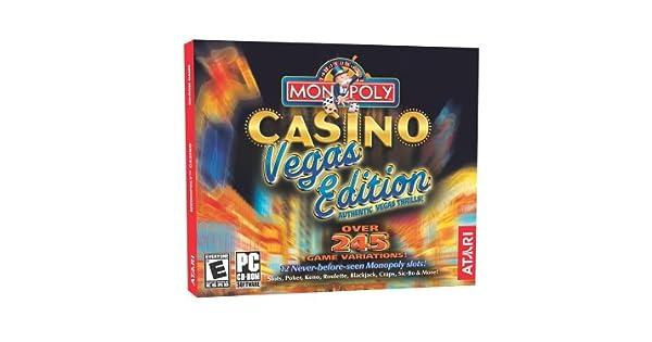 Monopoly Casino Vegas Edition - PC by Atari: Amazon.es: Videojuegos