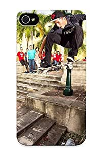 New Runandjump Super Strong Skateboard Skateboarding Skate Tpu Case Cover Series For Iphone 4/4s