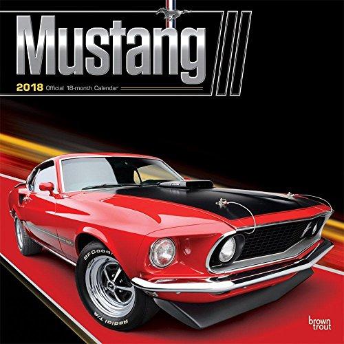 Mustang 2018 Wall Calendar