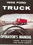 1956 Ford Truck Owners Manual