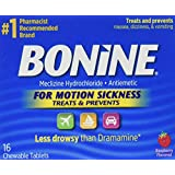 Bonine Motion Sickness Tablets-Raspberry-16 ct.