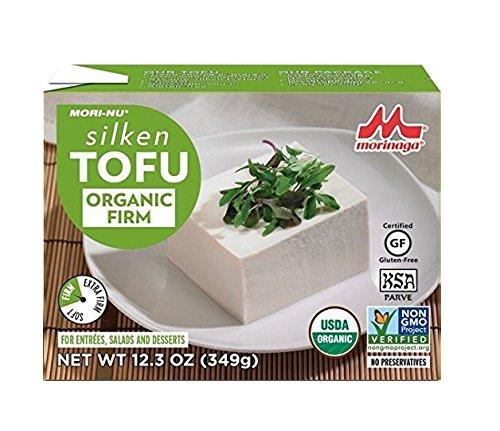 Mori-Nu Organic Silken Tofu, Firm, 12.3 Ounce (Pack