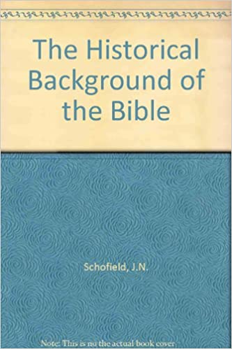 Book The Historical Background of the Bible