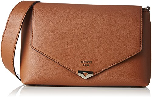 Guess Hwvg6792200, Women's Top-Handle Bag, Marrone (Cognac), 3.7x34x36.5 cm (W x H L)