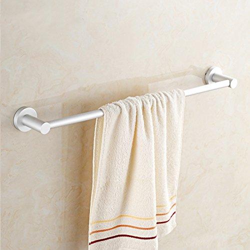 Yomiokla Bathroom Accessories - Kitchen, Toilet, Balcony and Bathroom Metal Towel Ring towel Bath Towel Set adult men, women and children of towels bathrobes lace white