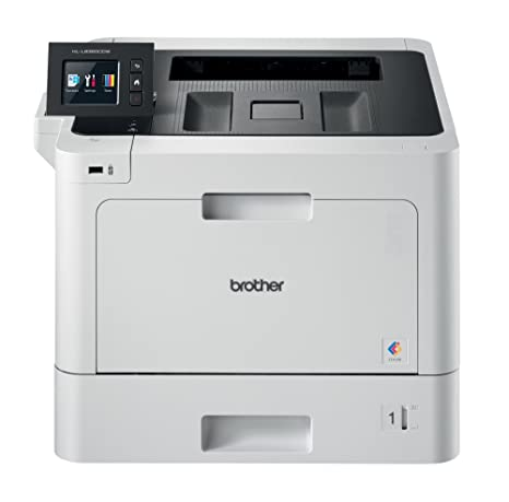 Brother HLL8360CDW - Impresora láser (color, WiFi, doble cara, pantalla de 6,8 cm, memoria de 512 MB) ()