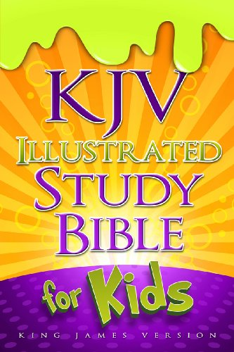 KJV Illustrated Study Bible for Kids, Hardcover