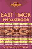 Front cover for the book East Timor Phrasebook by John Hajek