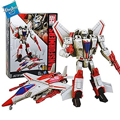 Transformers Generations Cyber Battalion Series Jetfire: Toys & Games