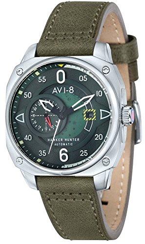 AVI-8 Mens Hawker Hunter Watch - Green
