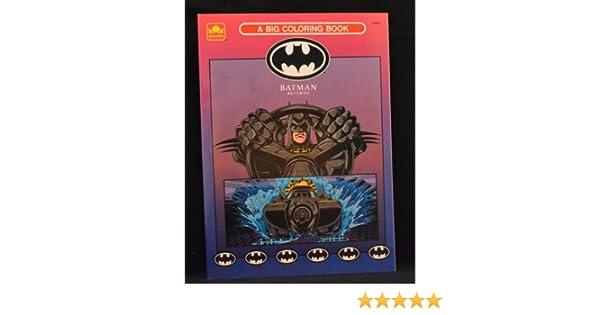 Batman Returns: A Big Coloring Book: Golden Books: 9780307029980 ...