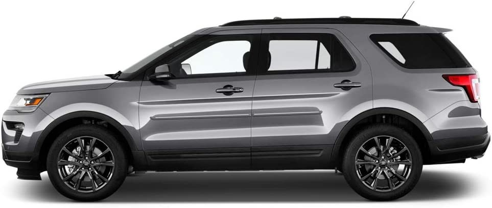 RR RUBY RED PEARL Dawn Enterprises FE-ESC13 Finished End Body Side Molding Compatible with Ford Escape