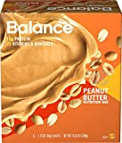 Balance Bar Peanut Butter, 1.76 Ounce Bars. 6 Count Value Pack