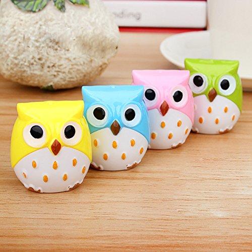 Usdepant Owl Shape Handheld Pencil Sharpener For Kids School (color random deliver)