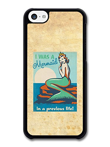 I was a Mermaid in a Previous Life Retro Propaganda Style Poster Effect case for iPhone 5C
