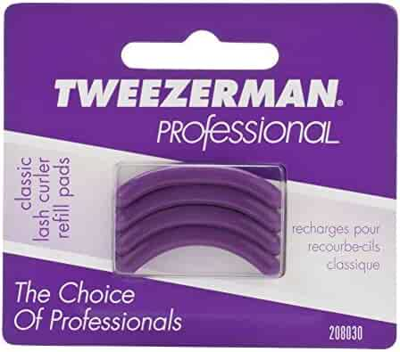 36ac073f44e Tweezerman Professional Classic Eye Lash Curler Refill Pads Silicone  Replacement