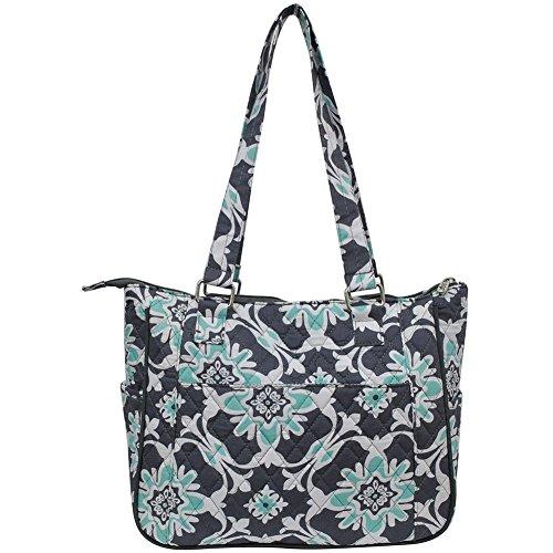 NGIL Fashion gray Vine Quilted Hobo Quatre Style Handbag vfgBq