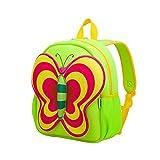 Nohoo Kids butterfly Backpack 3D Cute Zoo Cartoon School Boys Girls Bags
