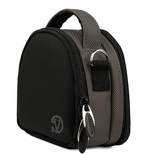 Berlin Travel Shoulder Bag Case [Steel Gray] For Sony HDR AS50 AS200V AS100V AZ1VR AS20 / FDR X1000V X1000VR