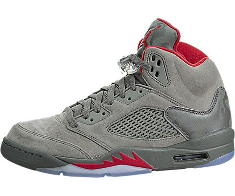 Jordan Air 5 Retro Reflective Camo Casual Sneakers