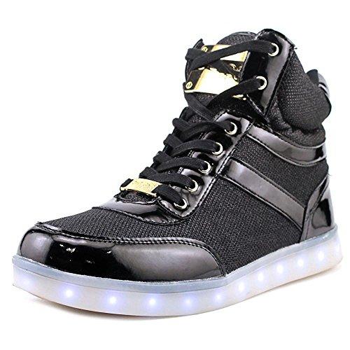 Bebe Sport Krysten Women US 8.5 Black Fashion Sneakers