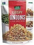 Fresh Gourmet Crispy Onions, 24 Ounce (Pack of 6)