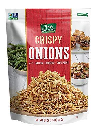 Fresh Gourmet Crispy Onions, 24 oz