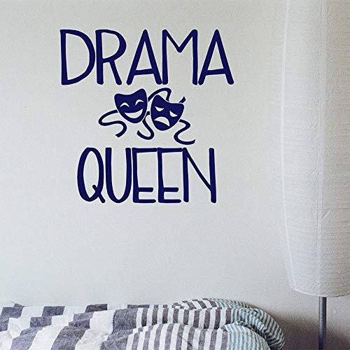 Amazoncom Byron Hoyle Drama Queen Wall Decal Wall Quote
