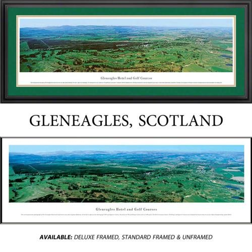 Gleneagles Framed Golf Course Panoramic