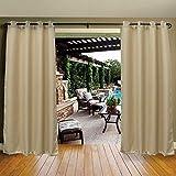DREAM ART Outdoor Waterproof Patios Curtains Canopy