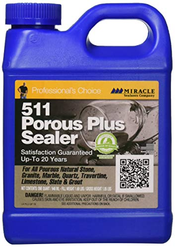 - Miracle Sealants PLUS QT 511 Porous Plus Sealer 32 oz Quart