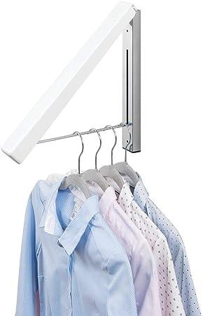 PERCHERO ADICIONAL: Este tendedero plegable para airear o secar ropa ofrece un práctico espacio extr